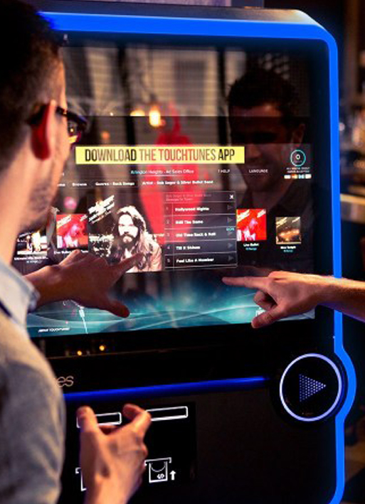 Digital Jukeboxes | Products | Lotto Scotland | Kirkcaldy | Fife